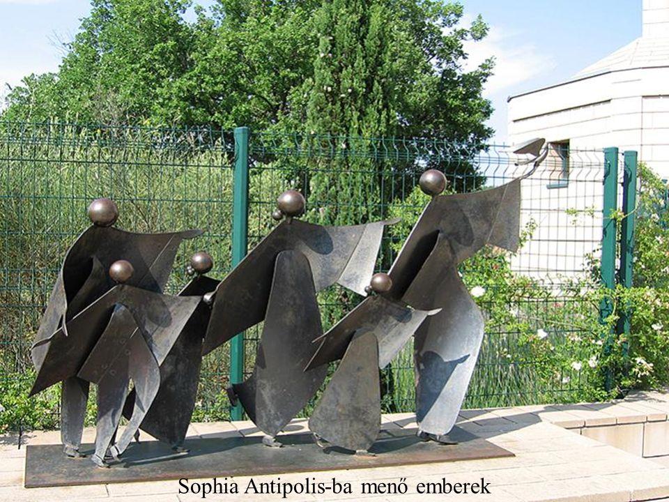 Sophia Antipolis-ba menő emberek