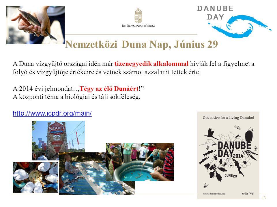 Nemzetközi Duna Nap, Június 29