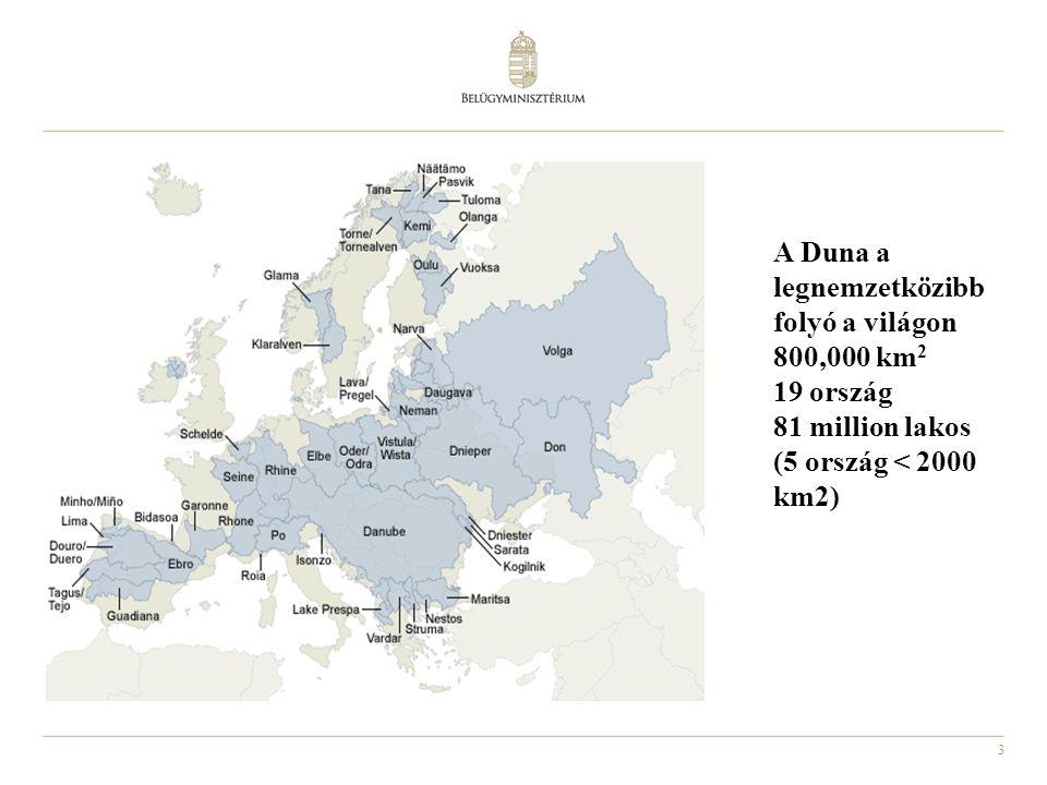 A Duna a legnemzetközibb folyó a világon