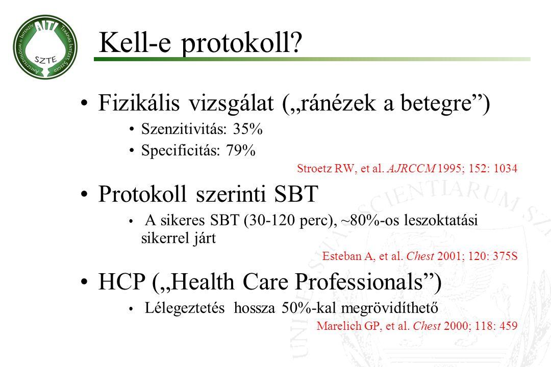 """Kell-e protokoll Fizikális vizsgálat (""""ránézek a betegre )"""