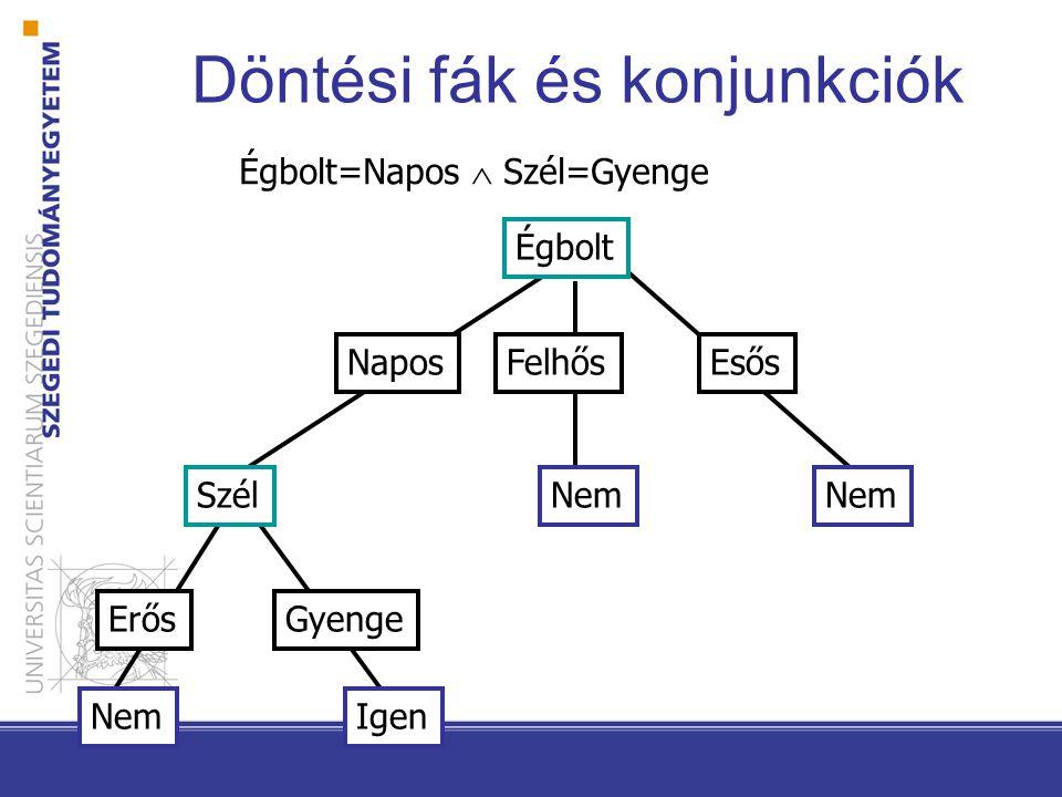 Döntési fák és diszjunkciók