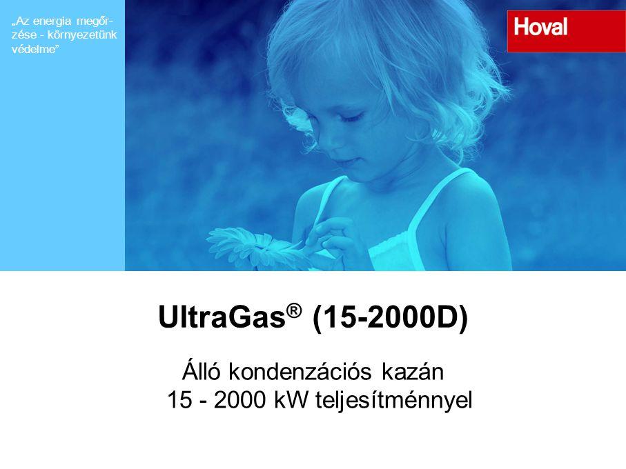 Álló kondenzációs kazán 15 - 2000 kW teljesítménnyel