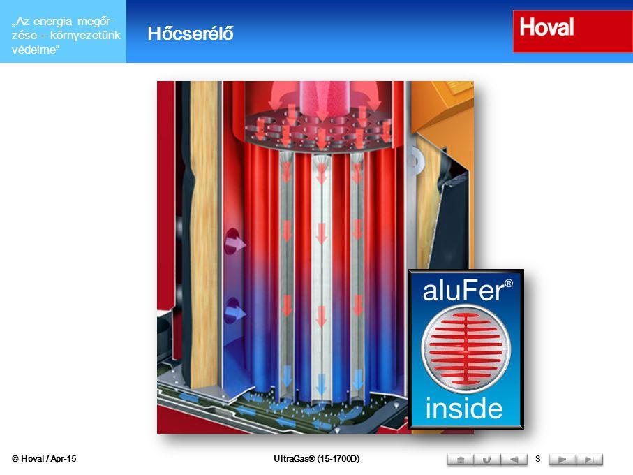 Hőcserélő © Hoval / Apr-17 UltraGas® (15-1700D) 3