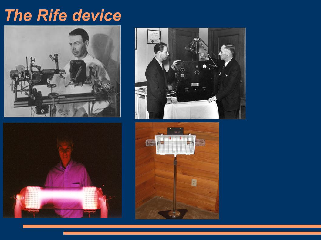 The Rife device