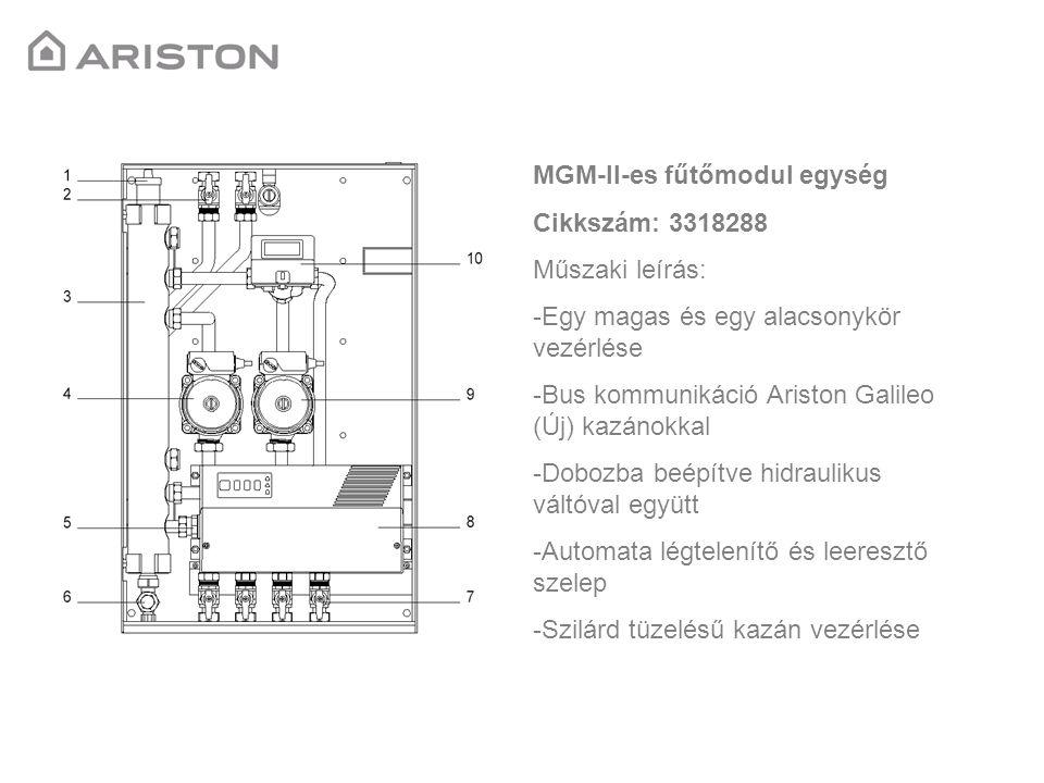 MGM-II-es fűtőmodul egység