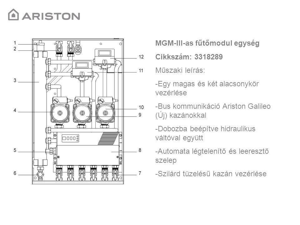 MGM-III-as fűtőmodul egység
