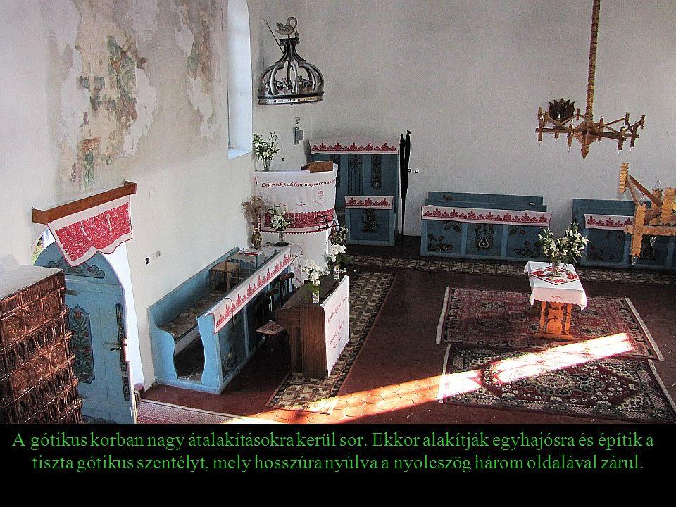 A gótikus korban nagy átalakításokra kerül sor