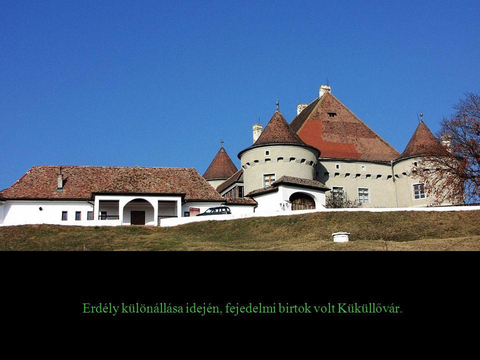 Erdély különállása idején, fejedelmi birtok volt Küküllővár.