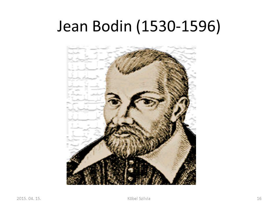 Jean Bodin (1530-1596) http://www.eumed.net/cursecon/economistas/Bodin.htm.