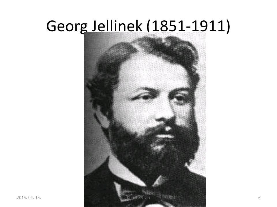 Georg Jellinek (1851-1911) http://de.wikipedia.org/wiki/Georg_Jellinek