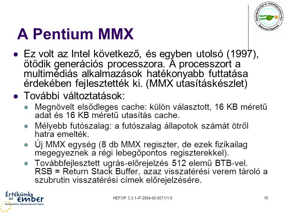 A Pentium MMX