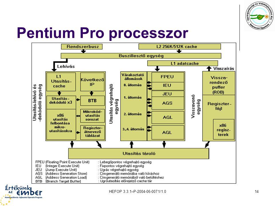 Pentium Pro processzor