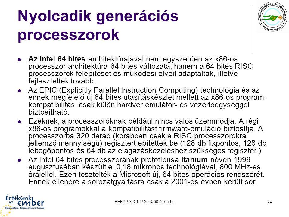 Nyolcadik generációs processzorok