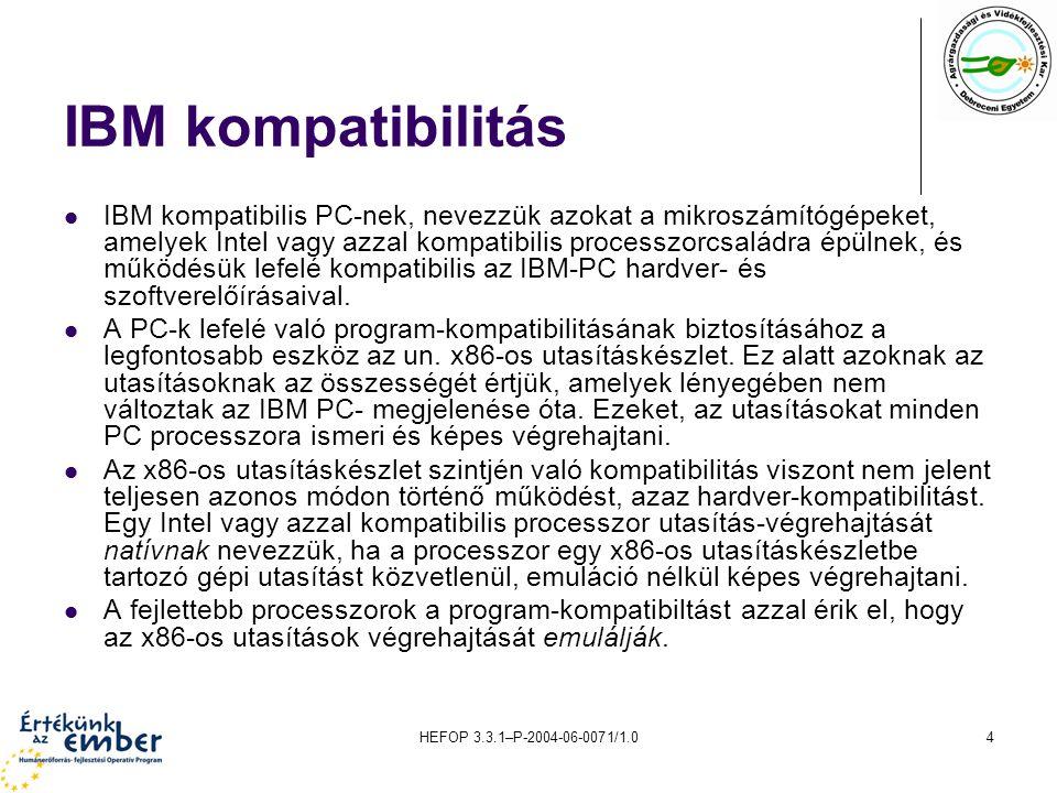 IBM kompatibilitás