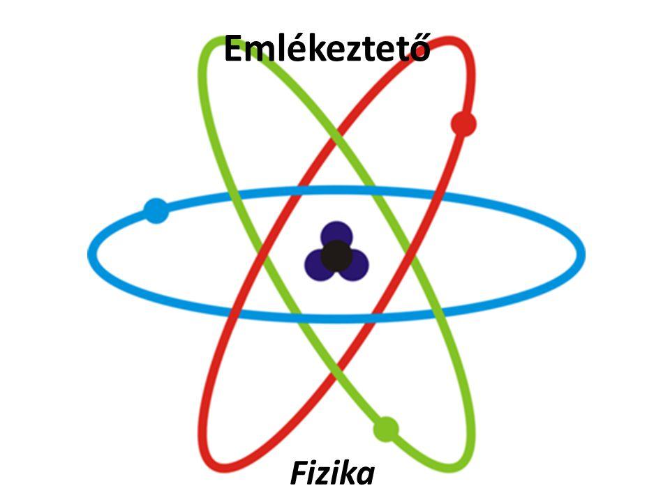 Emlékeztető Fizika