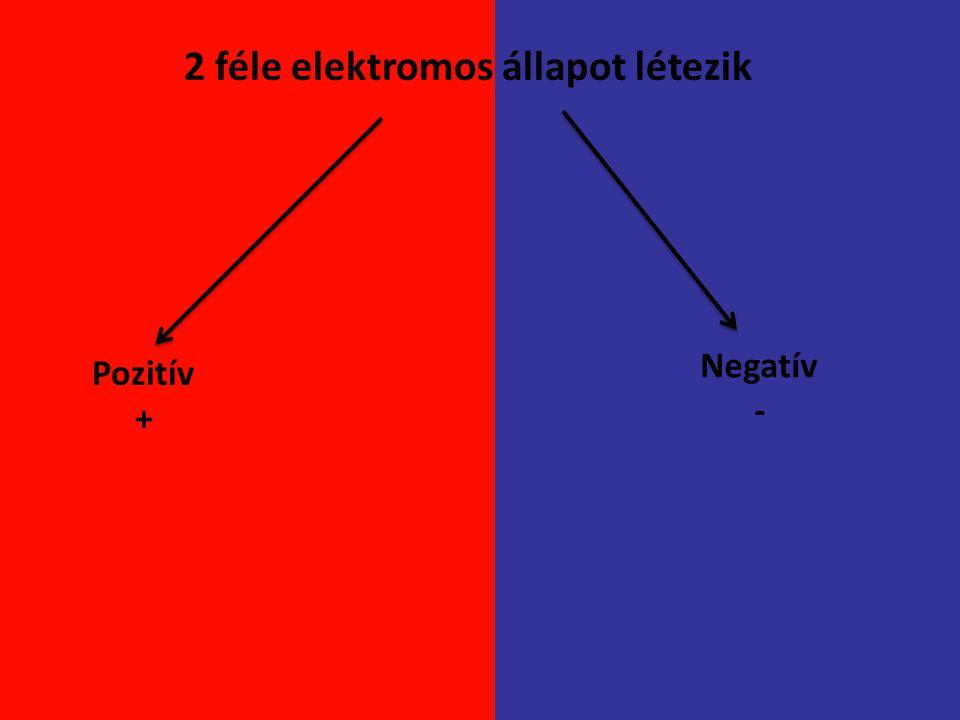 2 féle elektromos állapot létezik