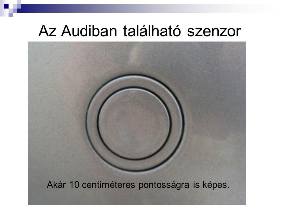 Az Audiban található szenzor