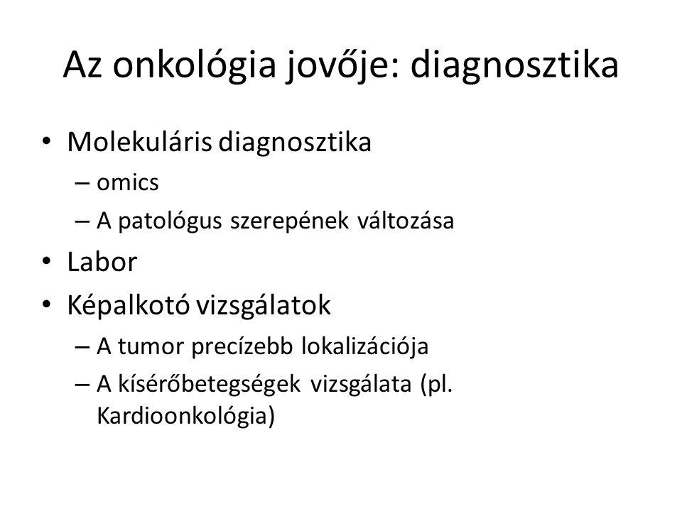 Az onkológia jovője: diagnosztika