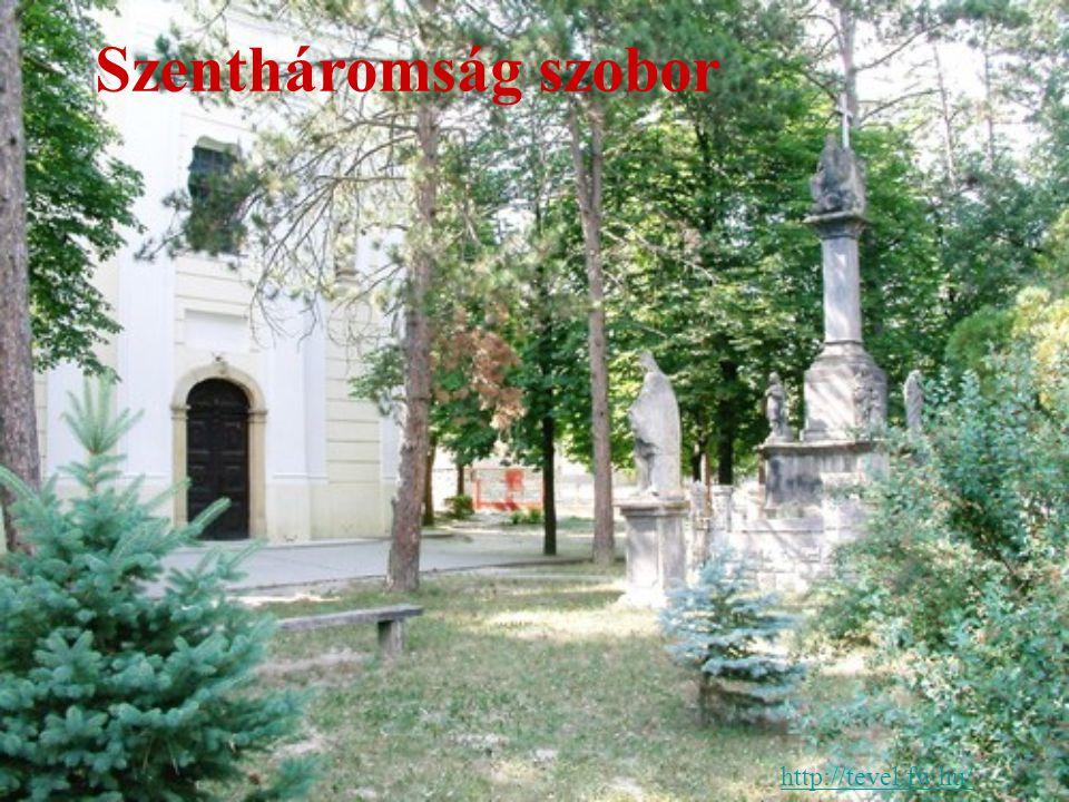 Szentháromság szobor http://tevel.fw.hu/