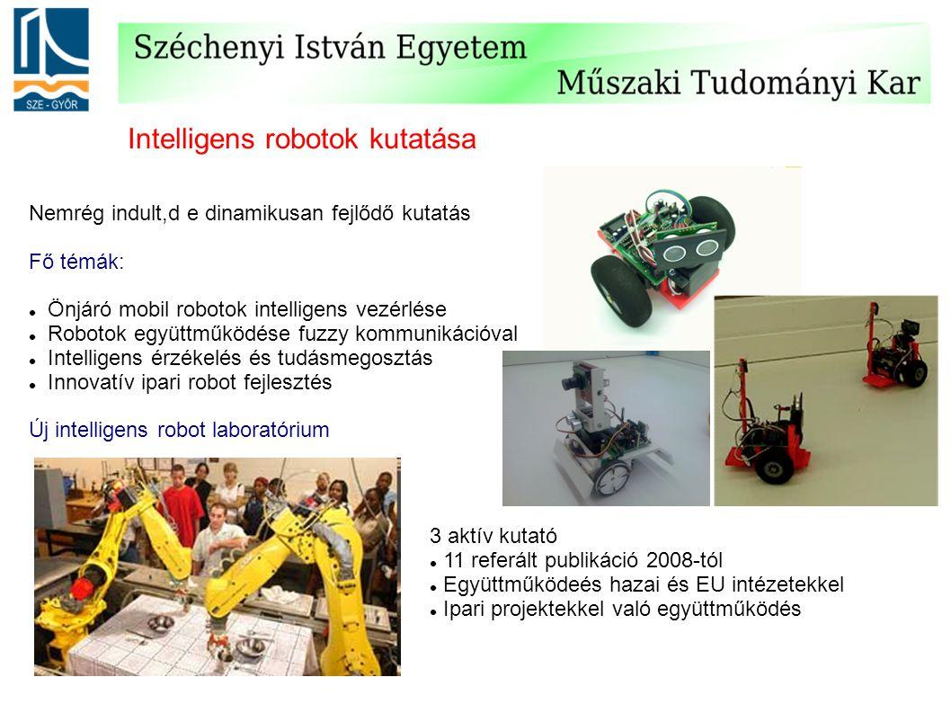 Intelligens robotok kutatása