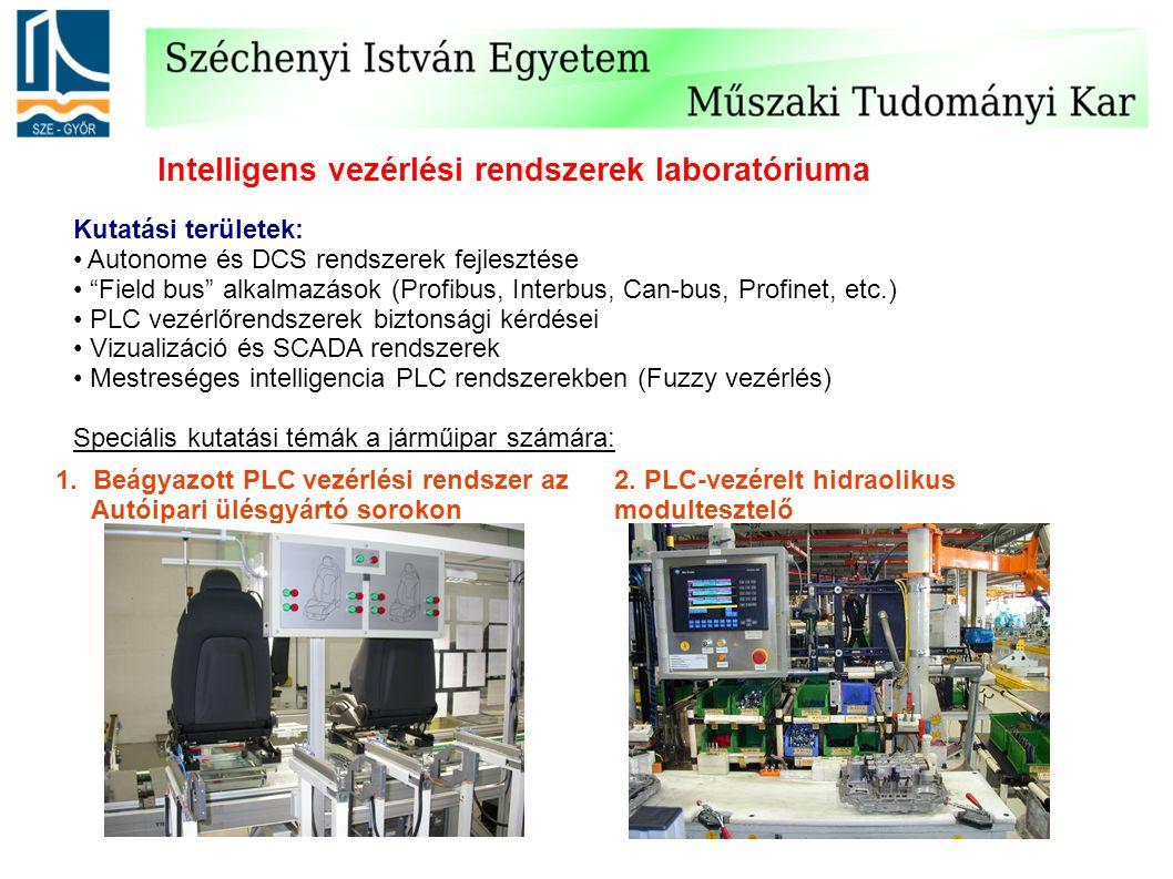 Intelligens vezérlési rendszerek laboratóriuma