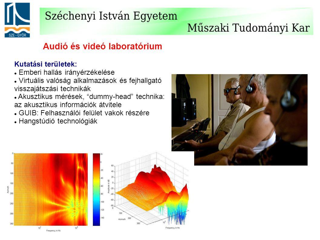 Audió és videó laboratórium