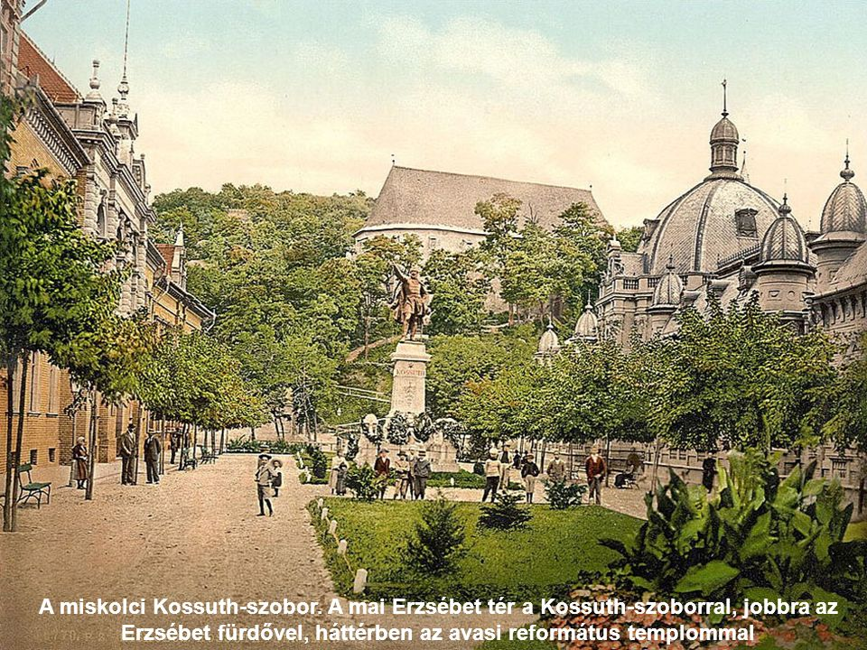 A miskolci Kossuth-szobor