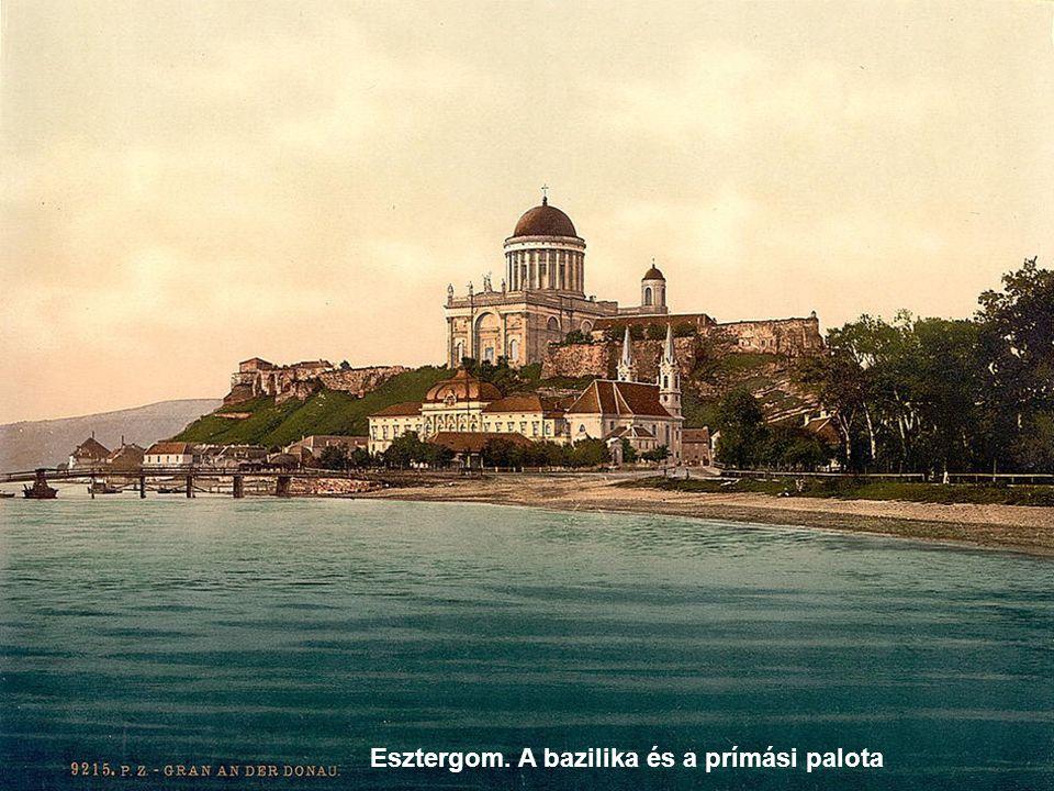 Esztergom. A bazilika és a prímási palota