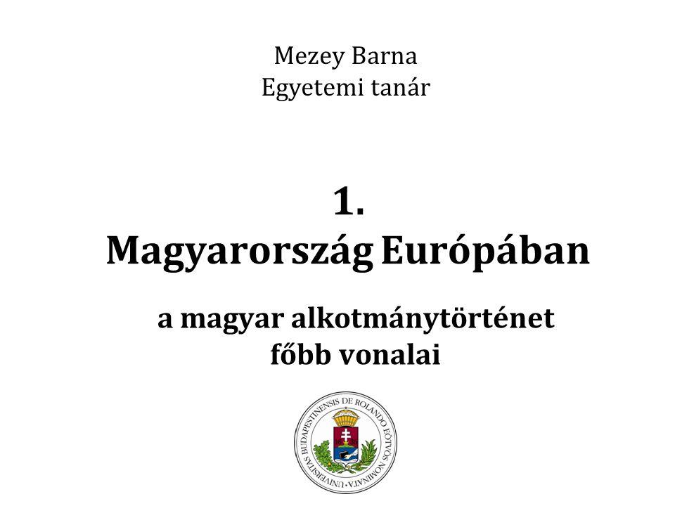 1. Magyarország Európában