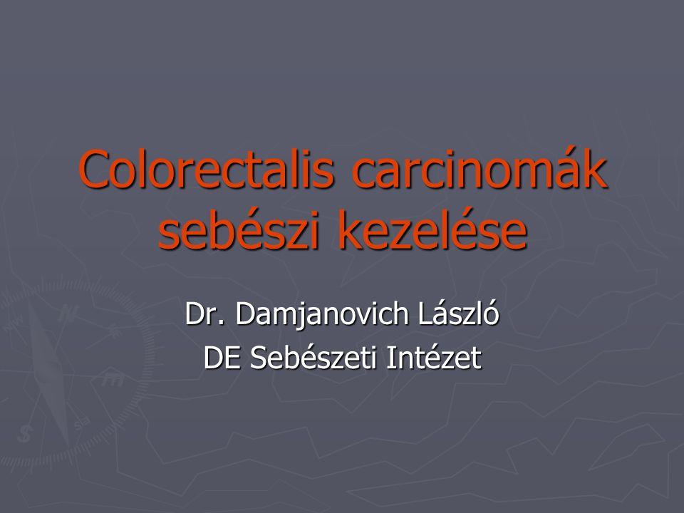 Colorectalis carcinomák sebészi kezelése