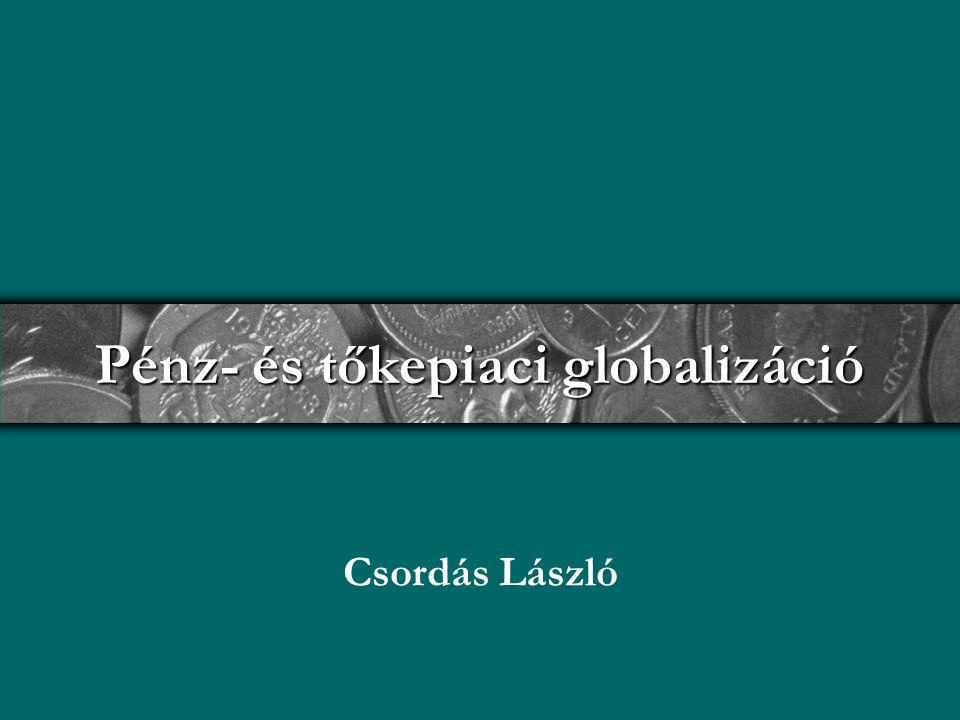 Pénz- és tőkepiaci globalizáció