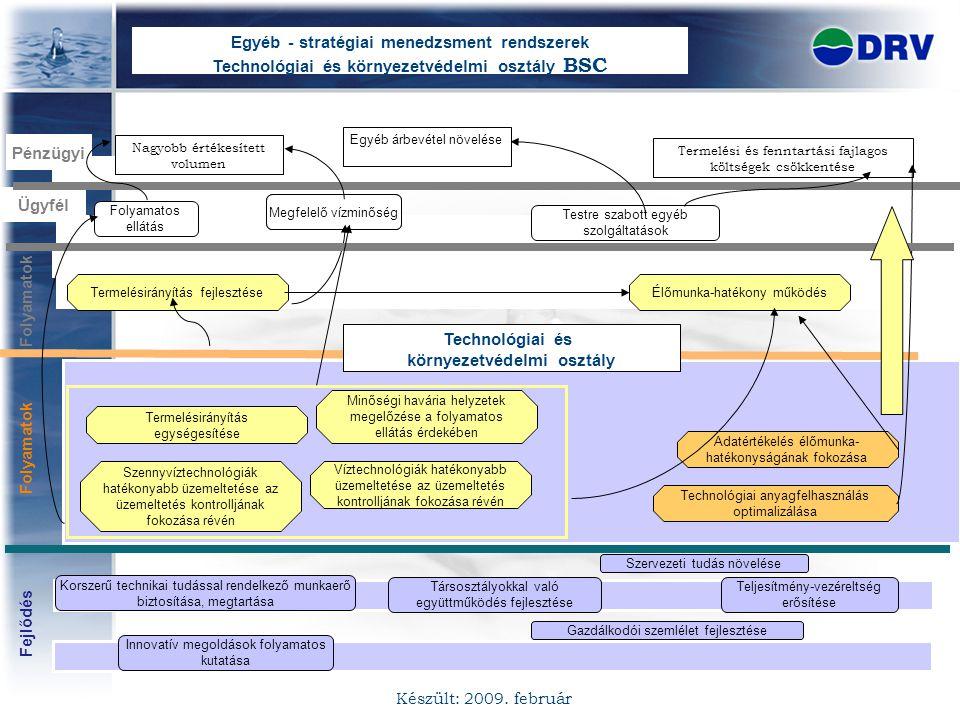 Egyéb - stratégiai menedzsment rendszerek