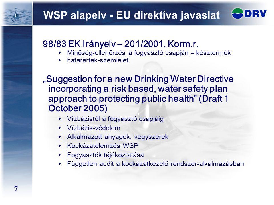 WSP alapelv - EU direktíva javaslat