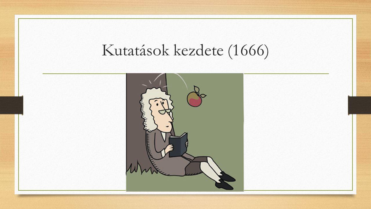 Kutatások kezdete (1666)