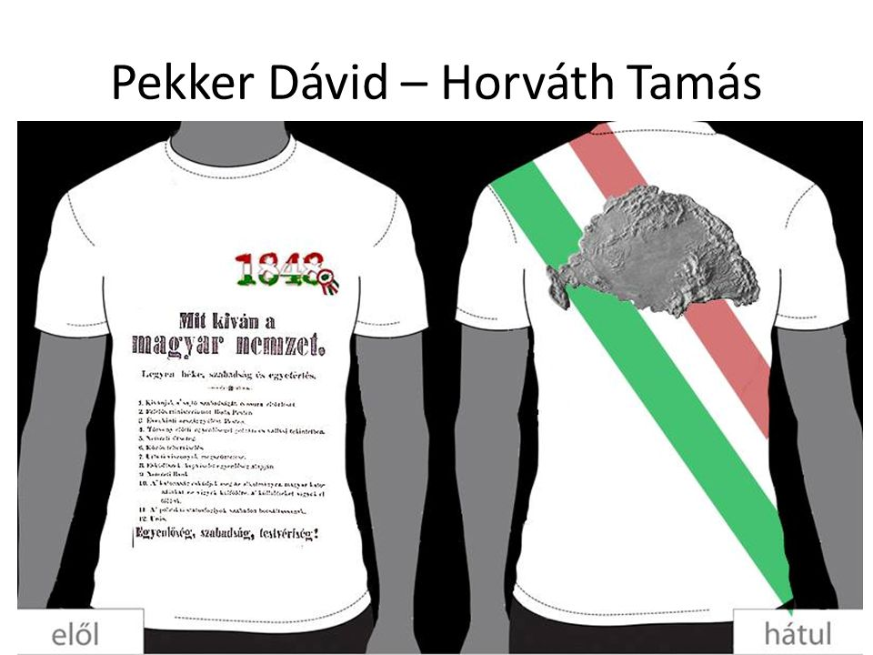 Pekker Dávid – Horváth Tamás