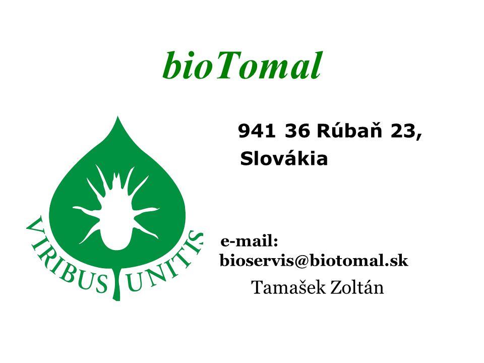 e-mail: bioservis@biotomal.sk