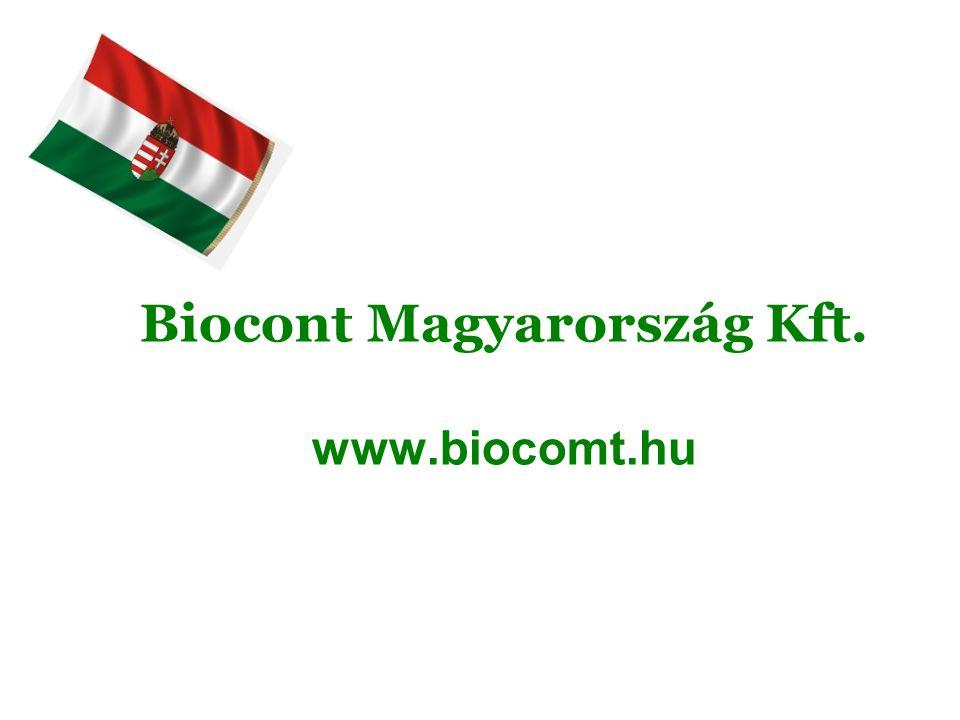 Biocont Magyarország Kft. www.biocomt.hu