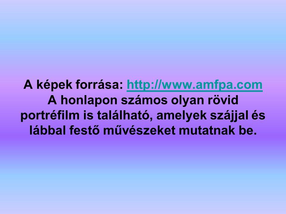 A képek forrása: http://www. amfpa