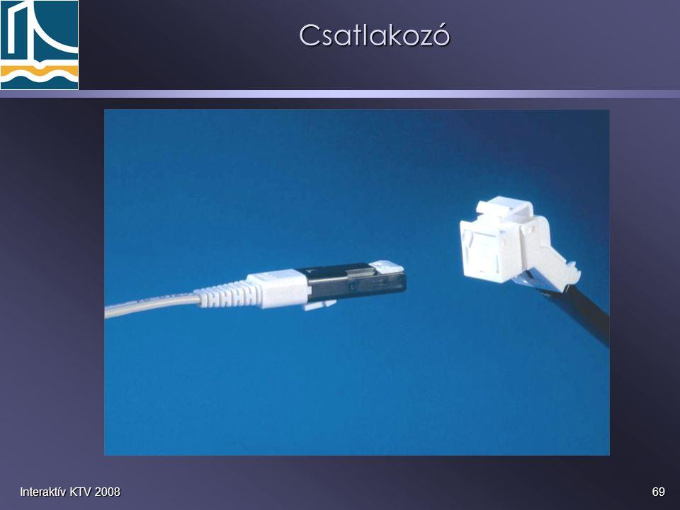 Csatlakozó Interaktív KTV 2008