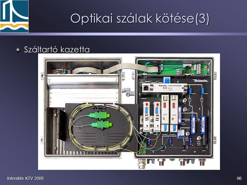 Optikai szálak kötése(3)