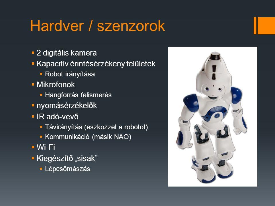 Hardver / szenzorok 2 digitális kamera
