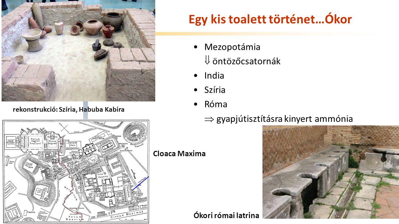 Egy kis toalett történet…Ókor