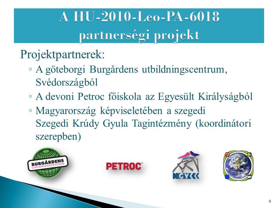 A HU-2010-Leo-PA-6018 partnerségi projekt