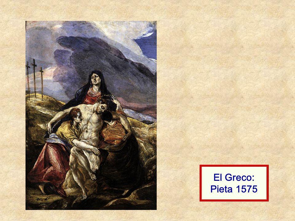 El Greco: Pieta 1575