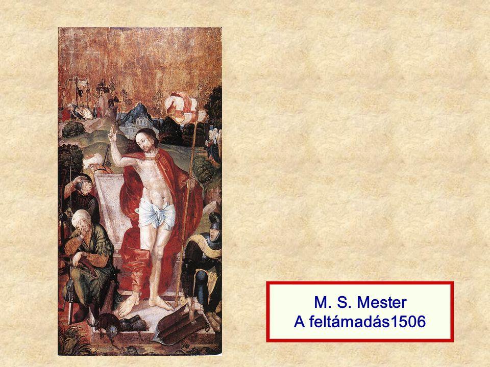M. S. Mester A feltámadás1506