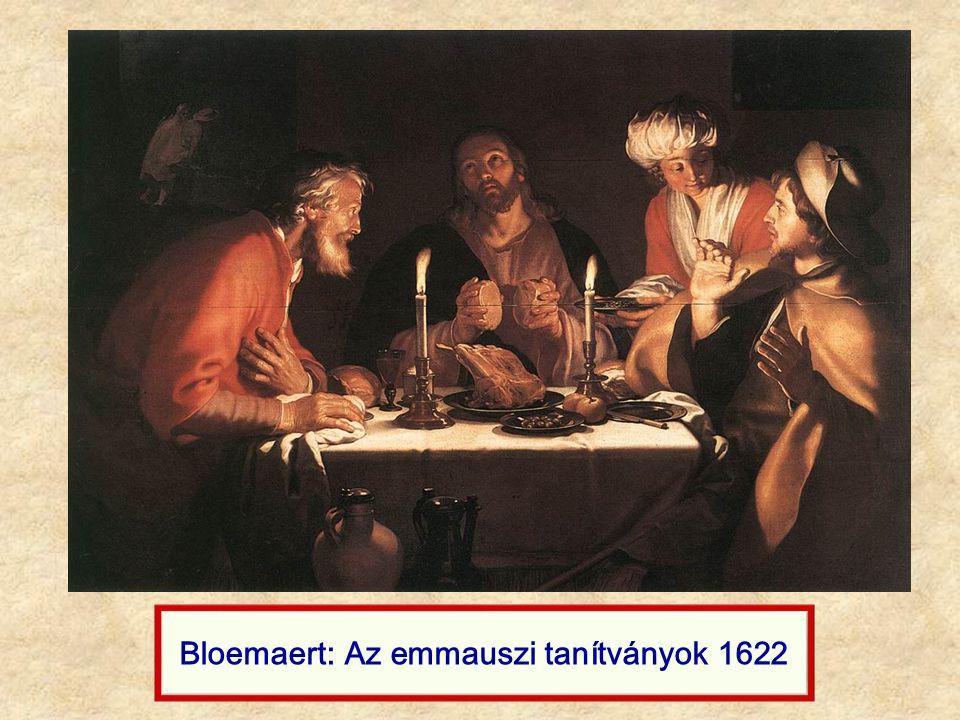 Bloemaert: Az emmauszi tanítványok 1622