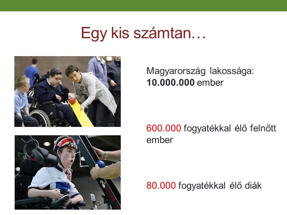 Egy kis számtan… Magyarország lakossága: 10.000.000 ember