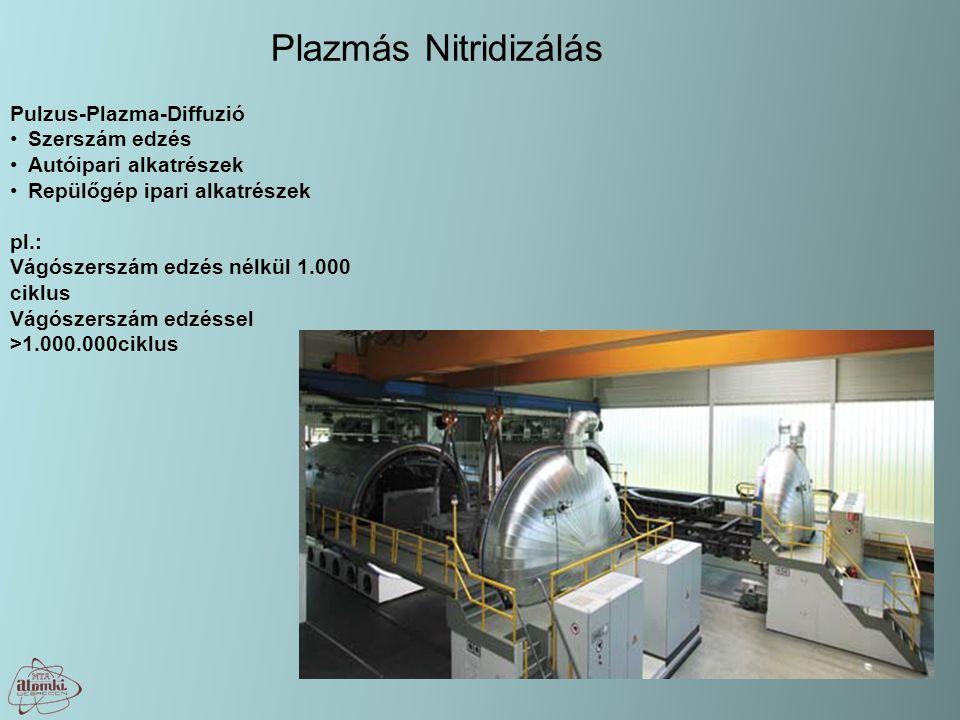 Plazmás Nitridizálás Pulzus-Plazma-Diffuzió Szerszám edzés