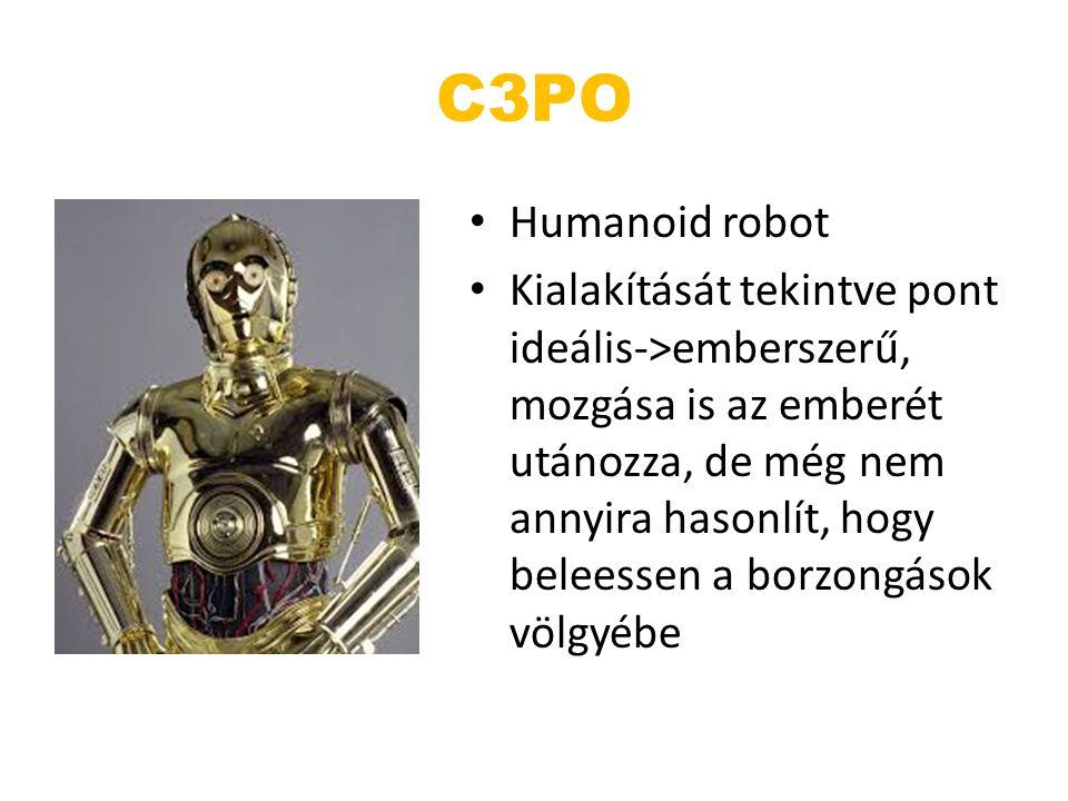 C3PO Humanoid robot.