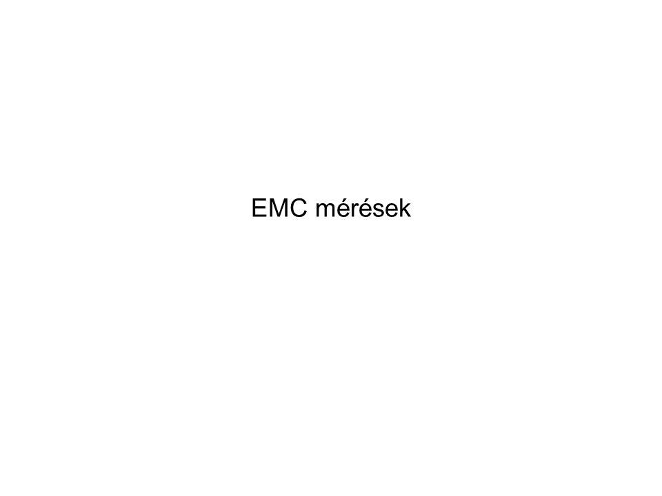 EMC mérések